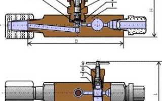 Где и как используется игольчатый кран