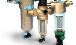 Водопроводный фильтр: назначение и обзор существующих моделей