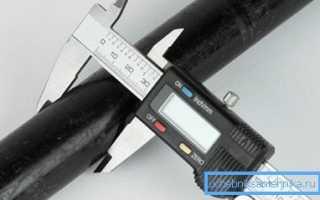 Как измеряются водопроводные трубы: все, что нужно знать о подборе изделия по габаритам