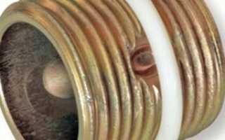 Радиаторный ниппель: функции, замена, герметизация