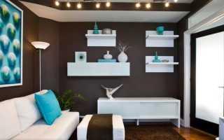 3 способа оформить гостиную в едином цвете