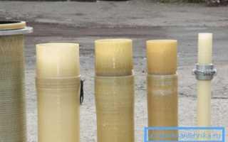 Стеклопластиковые трубы: преимущества, технология производства, стандарты