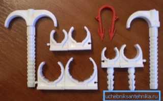 Крепления для труб: виды и особенности