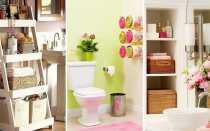 Как организовать хранение в ванной комнате