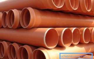 Трубы ПВХ для канализации: основные характеристики и особенности применения