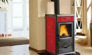 Отопительная печь с камином: особенности конструкции и технические характеристики