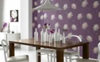 6 столовых с шикарными полосатыми акцентными стенами