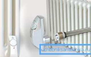 ТЭНы для радиаторов: особенности выбора