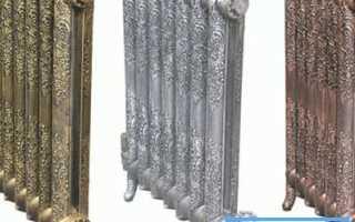 Чугунные радиаторы отопления: ретро декор снова в моде