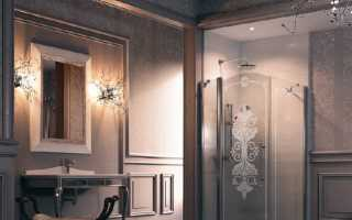 Распашные душевые двери – основные особенности данного типа конструкции
