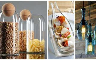 Странные идеи использования стеклянных бутылок