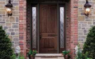 Входная дверь из дерева: Стоит ли?