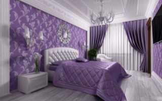 Сиреневая спальня: кому это точно не подойдет