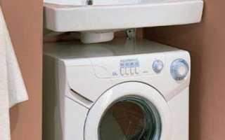 Мойка над стиральной машиной в ванной и на кухне – особенности и способы монтажа