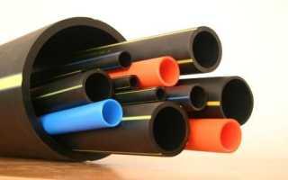 Полиэтиленовые трубы SDR – маркировка и применение