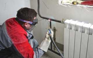 Эффективная замена батарей отопления газосваркой в квартире и доме