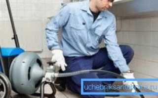 Как осуществляется промывка канализации гидродинамическим методом