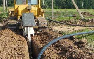Водопровод на участке: все аспекты строительства и некоторые правовые вопросы