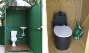 Туалет на даче с унитазом: как обустроить на природе уборную с удобствами