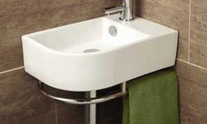 Угловая раковина для кухонных помещений и ванных комнат