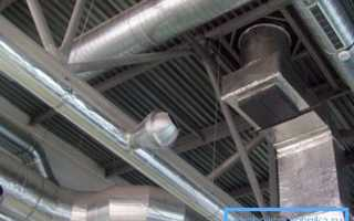 Трубы для вентиляции: выбор между металлом и пластиком,особенности установки