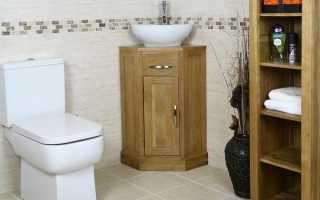 Тумба с раковиной: как подобрать и установить подходящую мебель для санузла