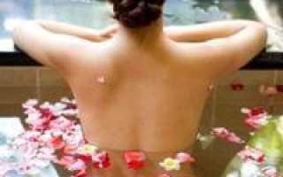Ванна с крахмалом: причины попробовать