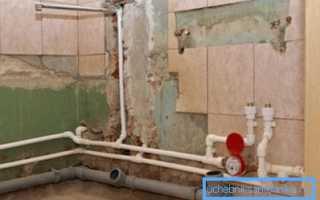 Замена труб в туалете – руководство к действиям