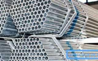Стальная оцинкованная труба: технические параметры и процесс изготовления
