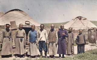 Гигиена у монголо-татар: о чем лучше не знать