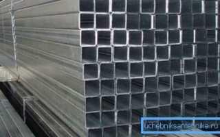 Квадратная алюминиевая труба: область применения и технические характеристики