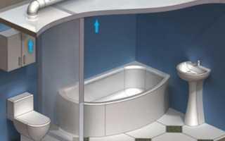 Вентиляция в ванной комнате: монтаж в подробностях