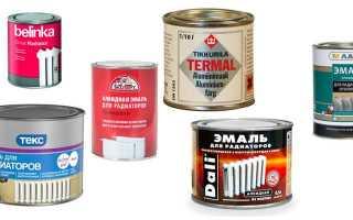 Краска для труб отопления дома или квартиры