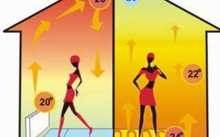 Нужен ли радиатор, если установили дома теплый пол