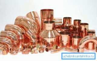 Медная труба – действующие нормативы и тонкости монтажа