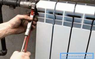 Установка батарей отопления: главные правила и подробности процесса