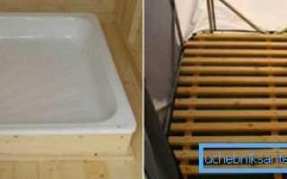Установка поддона для душа на деревянный пол: что необходимо учесть в процессе монтажа