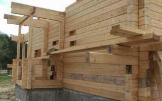 Стоит ли строить дом из бруса?