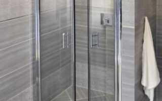 Стеклянная дверь в душ: особенности выбора и монтажа