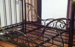 Как самому изготовить двуспальную кровать из профильной трубы
