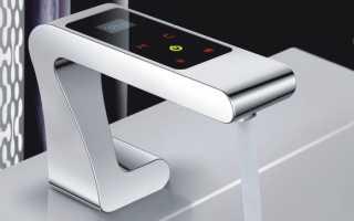 Сенсорный кран – почти искусственный интеллект