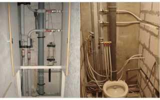 Несколько советов о том, как закрыть канализационные трубы в туалете