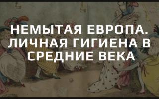Гигиена в средневековой Европе: почему частое мытье считалось грехом