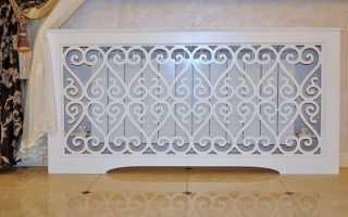 Экраны для радиатора отопления: материалы, назначение, разновидности форм и монтаж