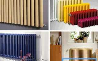 Стальные трубчатые радиаторы отопления для жилых и производственных помещений