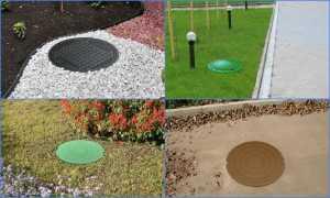 Пластиковые канализационные колодцы: виды и область применения