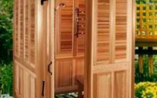 Дачный душ своими руками: что необходимо учесть на разных этапах его сооружения