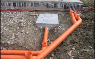 Трубы для наружной канализации – правила выбора