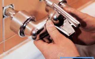 Как установить смеситель в ванной – рекомендации по проведению работ