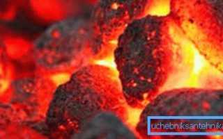 Какой и как применяется уголь для отопления